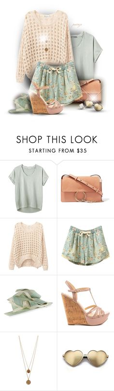 """""""Pastel Love"""" by rockreborn on Polyvore featuring Hope, Chloé, Marzi, Jessica Simpson, Bee Charming, Wildfox and Ippolita"""