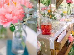 wedding candy bar / photographed by Kate Grewal
