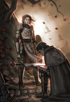 """""""I pledge unto you my service,"""" he muttered, bowing his head and extending his sword. Her cold, remote eyes wandered over him, seeking any sign of betrayal or resentment. There were none. She smirked; """"Well young master,"""" she said, """"Welcome to hell."""""""