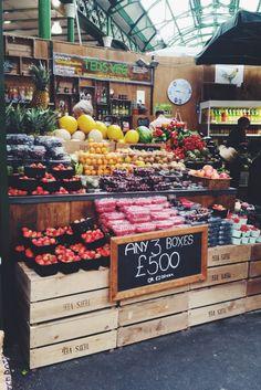 breakfast, borough market, london
