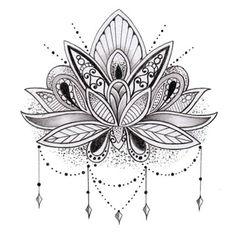 dibujos de tatuajes para dibujar flor