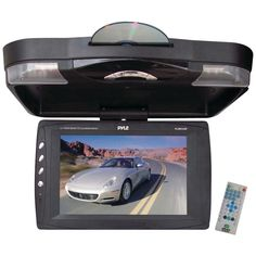 """Pyle 12.1"""" Ceiling-mount Lcd Monitor With Dvd Player"""