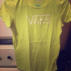 Vans T-shirt. Only worn a couple times. Too small Vans Tops Tees - Short Sleeve