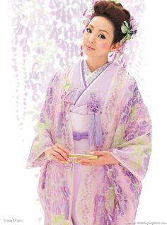 Japanese Kimono Wedding Dress Collection