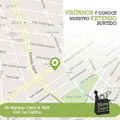 Estamos ubicados en #Guadalajara, ¡visítanos! Te esperamos.