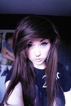 Blue eyed emo