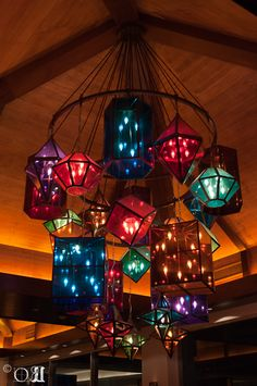 This is a shot of the awesome chandelier at the bar of the Westin Playa Bonita in Panama City, Panama.