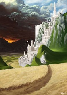 Collection of magnificent Middle-Earth illustrations along with detailed Lore - Imgur