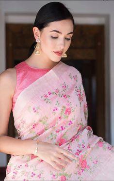 86beb481c824f 17 Best pink saree blouse images