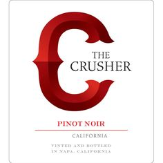 The Crusher 2016 Pinot Noir (California) Wine Vine, Wine Enthusiast Magazine, Red Dates, Pinot Noir Wine, Wine Reviews, Bottle Sizes, Cabernet Sauvignon, Cool Things To Buy, California