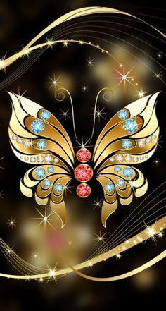Wallpaper Images Hd, New Wallpaper, Pretty Wallpapers, Wallpaper Downloads, Wallpaper Backgrounds, Butterfly Wallpaper, Butterfly Flowers, Beautiful Butterflies, Phone Screen Wallpaper