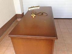 alter schreibtisch ca 80 100 jahre alt in saarland dillingen saar b rom bel gebraucht. Black Bedroom Furniture Sets. Home Design Ideas