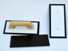 Llana de goma flexible 14 x 30 cm para aplicar microcemento fino
