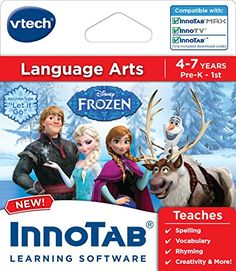 Kids' Personal Video Players - VTech InnoTab Software Frozen * To view further for this item, visit the image link.