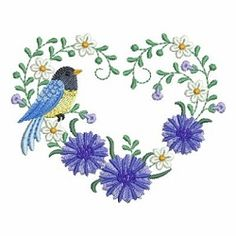 Heart of Blooms 5 - 2 Sizes! | What's New | Machine Embroidery Designs | SWAKembroidery.com Ace Points Embroidery