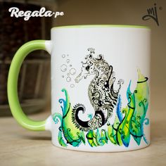 Taza Caballito de mar – Regala.pe – Regalos originales y personalizados Lima – Peru