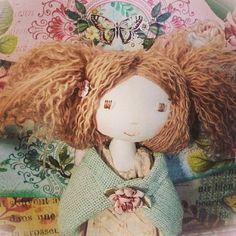 Holly Hobbie cloth doll VERITY HOPE pdf pattern