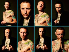 CHESTER BENNINGTON I have never seen some of these before...