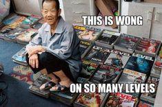 Very wong.