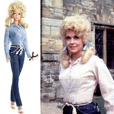 Costumes Hub ☺ Fun Costumes Ideas: How to Be Elly May (Beverly Hillbillies) for Halloween Hillbilly Costume, Redneck Costume, Hillbilly Party, Redneck Party, Celebrity Barbie Dolls, Donna Douglas, The Beverly Hillbillies, Star Wars, Cool Costumes