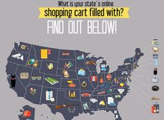 Infographic: What Is Your State's Top Buy On eBay?