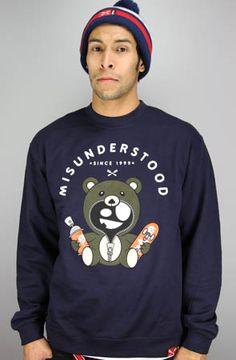 The Misunderstood Teddy Bear Crewneck by Entree
