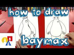 How To Draw Baymax (Big Hero 6) - Art for Kids Hub