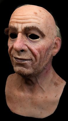 Realistically natural skin appearance, complete with hand-made moles, warts, liver spots, veins, wrinkles and individually-inserted eyebrow, facial hairs. To make pulling on the mask easier, you can sprinkle some talcum powder (or unscented baby powder) inside the mask and pat it around; just make sure that you are not allergic to or irritated by the powder.   eBay!