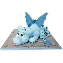 Dragon Cake Dragon Cake - idea for Wyatt's birthday cake. BrodskyDragon Cake - idea for Wyatt's birthday cake. Dragon Birthday Cakes, Toddler Birthday Cakes, Cake Birthday, Birthday Ideas, Dragons Cake, Idee Baby Shower, Fondant Animals, Sculpted Cakes, Dragon Party
