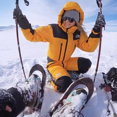 Ski Bunnies, Down Suit, Ski Socks, Winter Gear, Rain Wear, Winter Sweaters, Navy And Green, Outdoor Outfit, Cold Weather