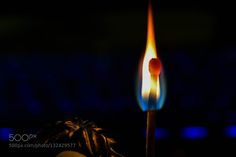 Flames - Pinned by Mak Khalaf Abstract  by lakingerp