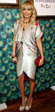 90f63d6423 Look of the Day › November 2011 WHAT SHE WORE At Fred Segal, Richie  unveiled the House of Harlow 1960 pop-up shop in the label's edgy  accessories and a ...