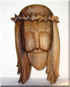 Ježíš Kristus - dřevěná plastika