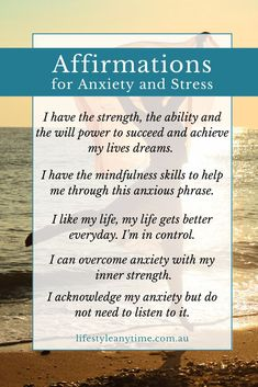 Worried, anxious, stressed, it gets to us all at different times in life. Research shows 1 in 4 people will experience anxiety. I am someone who suffers with anxiety and stress. In really stressful times, I turn to mindful methods like positive affirmations to help me through. Here are 15 daily affirmations that I've found helpful during stressful times. Read them all in the article.  #affirmations #dailyaffirmations #positiveaffirmations #stressrelief Positive Affirmations For Anxiety, Daily Affirmations, Positive Thoughts, Life Gets Better, Understanding Anxiety, Positive Psychology, Feeling Stressed, Inner Strength, Life Advice