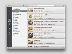Paprika  - Love this recipe app!  Very easy to import recipes from the internet, and syncs your Mac, iPad and iPhone!