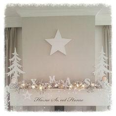 """""""☆XMAS! My mantle & wood stove..☆☆ #woodstove #mantle #fireplace #xmas #christmasdecorations #christmas #kerst #kerstdecoratie #whitechristmas…"""""""