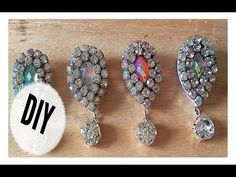 DIY//TUTORIAL BROS DIAMOND - YouTube Seed Bead Earrings, Beaded Earrings, Beaded Bracelets, Netted Bracelet, Making Bracelets With Beads, Jewelry Making, Bead Jewellery, Beaded Jewelry, Earring Tutorial