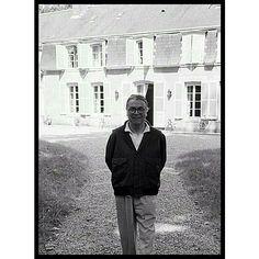 Mr Balenciaga at home - Paris Match 1968 - ph Jean Tesseyre