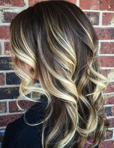 Hair Color Ideas for Winter-Spring Hairstyles Dark Rooted Balayage