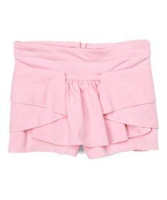 Look what I found on #zulily! Pink Tier Skort - Toddler & Girls #zulilyfinds