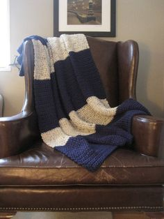 THIS WOULD BE SO EASY TO MAKE! Blueberry Crochet Blanket by HabitatShop on Etsy, $90.00