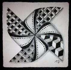 Tangled Pinwheel