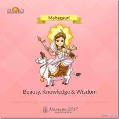 Mahagauri, Eighth Form of Nav Durga , Navratri, The Art of Living