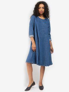Longsleeve Basic Dress by 69