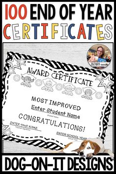 May Activity, Student Awards, Award Certificates, End Of Year, Upper Elementary, Names, Hand Writing, Teacher, Activities