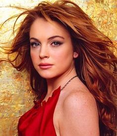 Really not in to Lindsay Lohan, but I will take these make up tips for redheads.