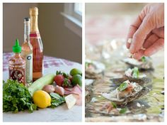 Roasted Oysters with bacon, spinach & gruyere cheese   My Eastern Shore Wedding