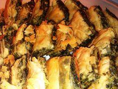 Τα Μυστικά της Παν..ωραίας: ΚΑΤΑΠΛΗΚΤΙΚΗ ΣΠΑΝΑΚΟ - ΧΟΡΤΟΠΙΤΑ ΜΕ ΧΩΡΙΑΤΙΚΟ ΤΡΑΓΑΝΟ ΦΥΛΛΟ! ΣΥΝΤΑΓΗ ΤΗΣ ΓΙΑΓΙΑΣ ΠΑΝΩΡΑΙΑΣ! Spanakopita, Ethnic Recipes, Food, Essen, Meals, Yemek, Eten