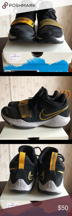 37c7be06a322 Paul George 1 Nike shoes Nike PG1 basketball shoes, size men's 10, used one  junior high season and only worn on court indoors Nike Shoes Athletic Shoes