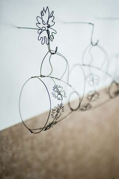 Cups and hooks! (Helaina Sharpley Wirework Artist)